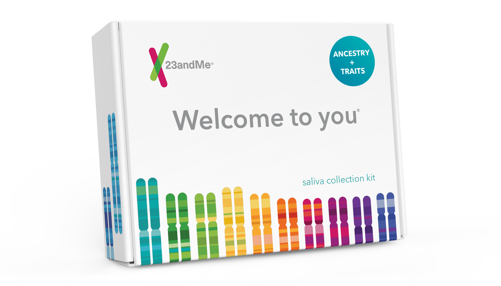 23andMe DNA Ancestry test kit - add to cart